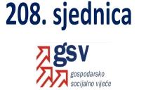 208. sjednica GSV-a (27. ožujka 2017.)
