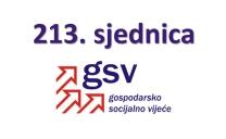 213. sjednica GSV-a (25. rujna 2017.)