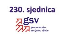 230. sjednica GSV-a (22. prosinca 2020.)