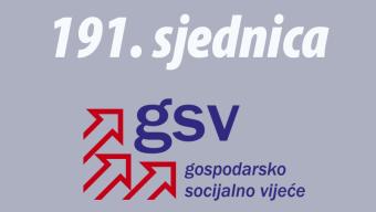 191. sjednica GSV-a (03. studenoga 2014.)
