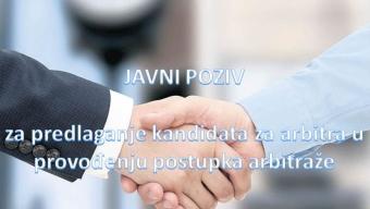 Obavijest o produženju roka za podnošenje ponuda i predlaganje kandidata za arbitra u provođenju postupka arbitraže
