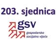 203. sjednica GSV-a (13. lipnja 2016.)