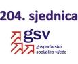 204. sjednica GSV-a (7. studenoga 2016.)