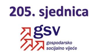 205. sjednica GSV-a (5. prosinca 2016.)