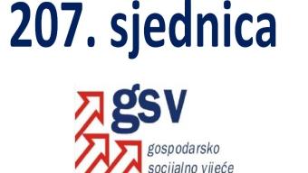 207. sjednica GSV-a (27. veljače 2017.)