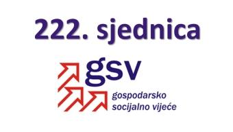 222. sjednica GSV-a (27. ožujka 2020.)