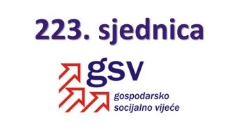 223. sjednica GSV-a (8. travnja 2020.)