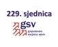 229. (dopisna) sjednica GSV-a (11. prosinca 2020.)