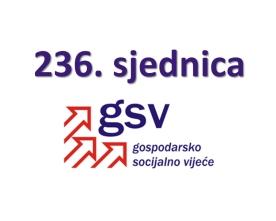 236. sjednica Gospodarsko-socijalnog vijeća (31. svibnja 2021.)